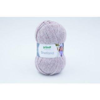 Grundl Wolle Shetland Farbe 06 Mocca Melange Handstrickgarn In